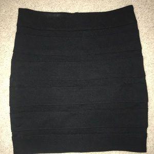 Paige Black Mini Skirt. Size XS